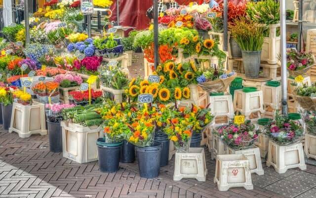 שוק הפרחים Teves
